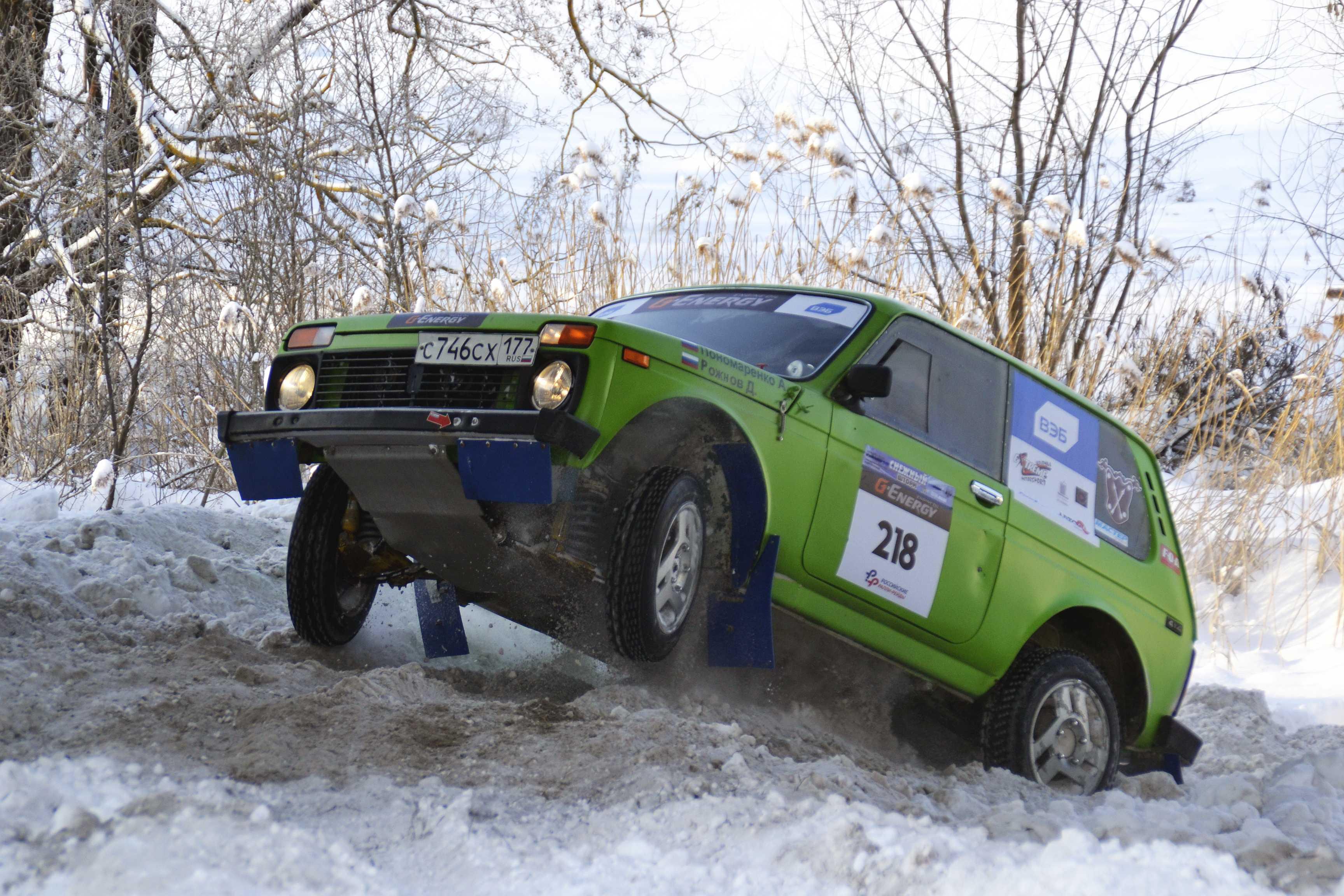 «Снежный шторм 2016» — 1-ый этап Кубка России по ралли-рейдам